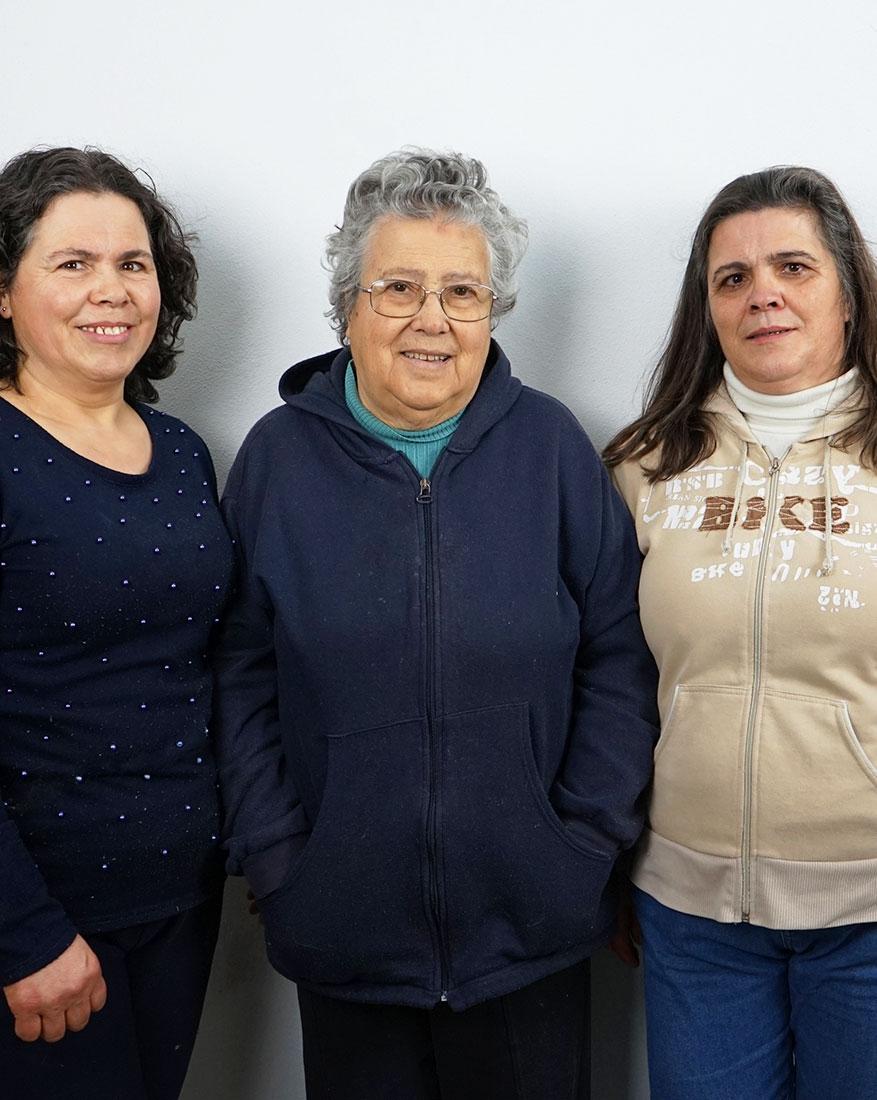 Maria José da Rocha e Filhas